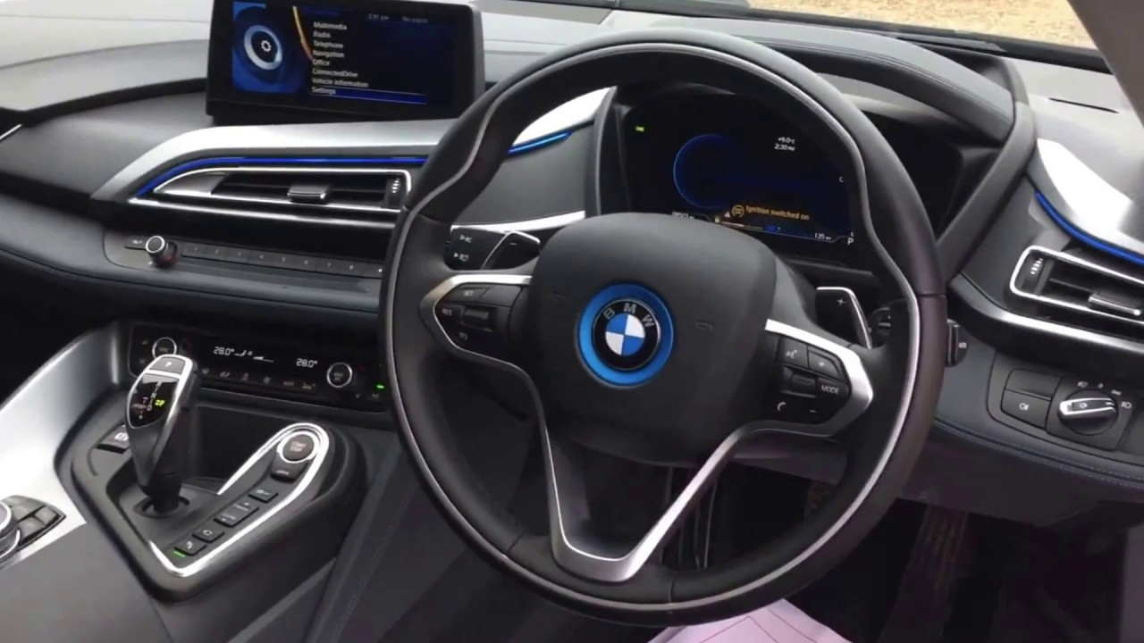 Bmw I8 I8 For Sale In White With Blue Accents Youtube