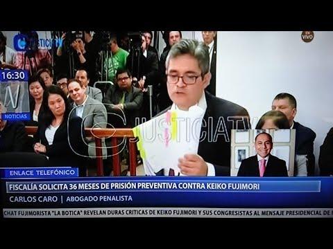Carlos Caro en Canal N - Audiencia de pedido de prisión preventiva contra Keiko Fujimori