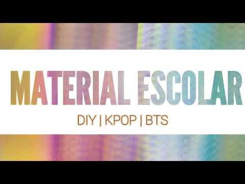 Diy Back to school kpop