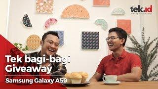 Giveaway Samsung Galaxy A50 (JAWAB DI VIDEO REVIEW WD)