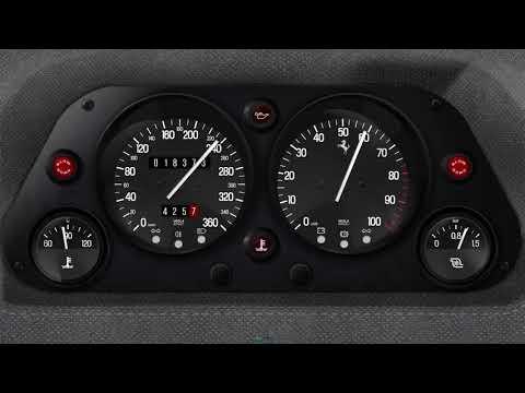 RealDash F40 premium dashboard , YouTube