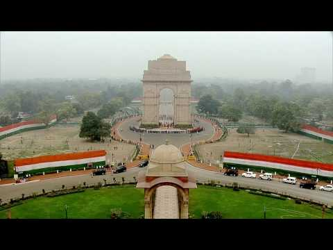 REPUBLIC DAY in India, 2017 - FULL 68th R. Day ceremony
