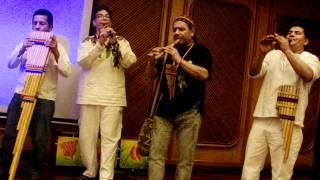 Grupo Sol Mayor - música andina ancestral (3 de 5). Evento: Plenilunio 86