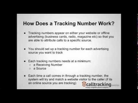 Tracking Number Set Up Video
