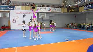 Cheerleading. Чир спорт.  Команда ДиаМонд.