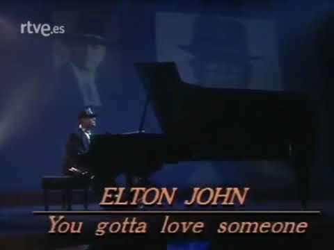 Download Elton John • You Gotta Love Someone live TV ►1990