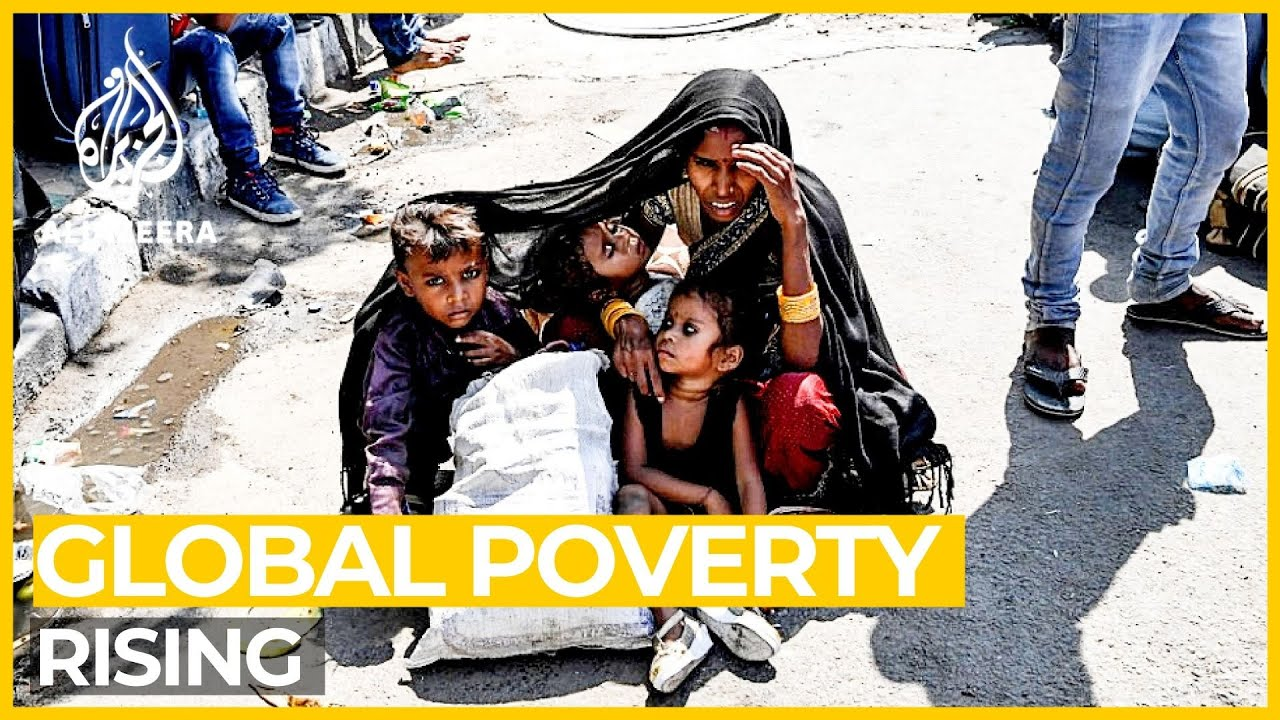 Rising global poverty amid coronavirus pandemic