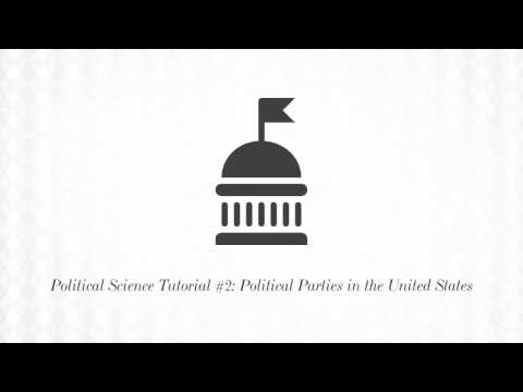 Political Science Tutorial No. 2: Political Parties in the United States