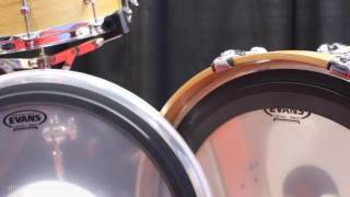 Evans drumheads - EMAD Heavyweight Bass and Snare Batter