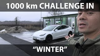 MC Hammer 1000 km challenge in winter