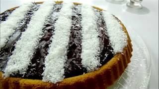 Torte me Çokollata dhe Kokos - Chocolate coconut cake