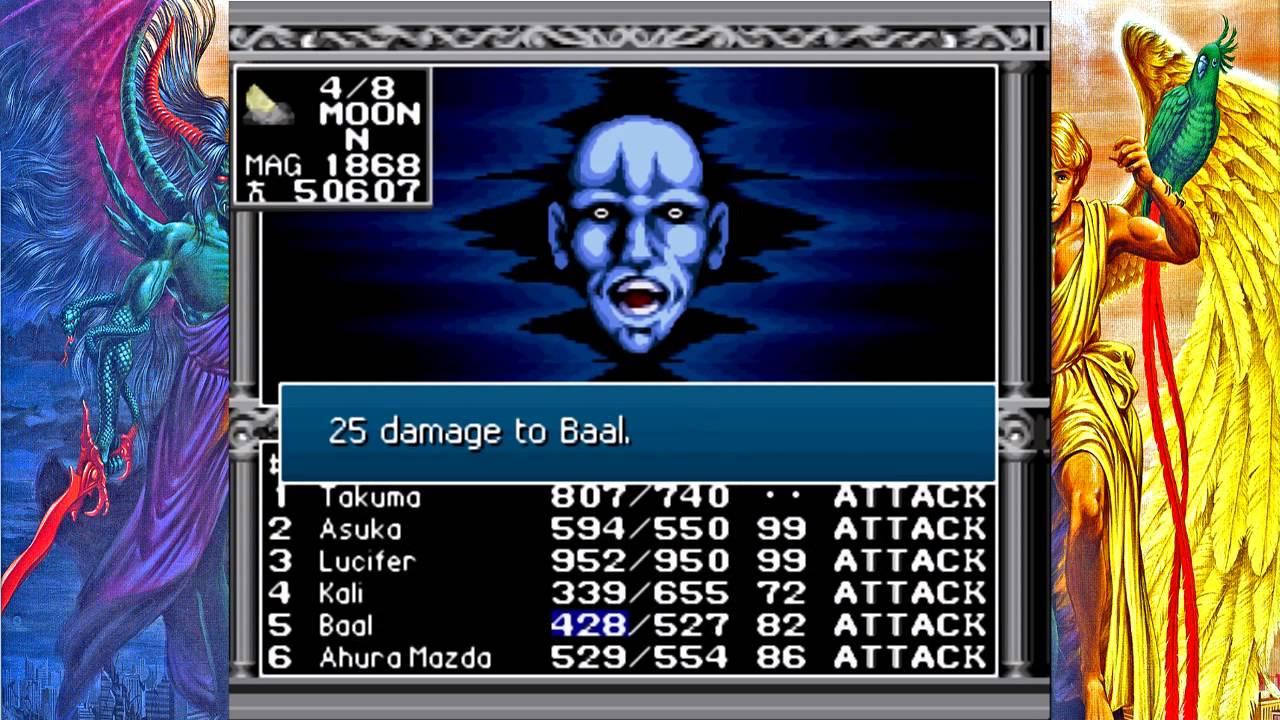 Kyuuyaku Megami Tensei II - Satan, YHVH & Neutral/Chaos ...