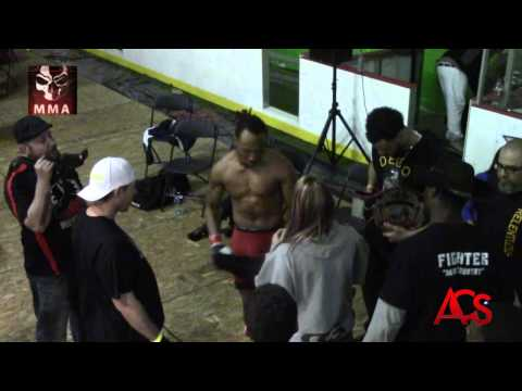 "Exiled MMA ""ANARCHY""  Aaron "" Beat dem up "" Smith vs Bob "" Hick From the Sticks"" Mezzano"