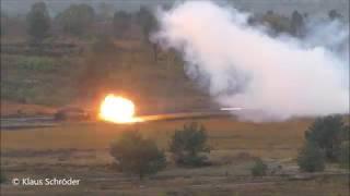 ILÜ 2019  Gefechtsschießen Teil 2 Leopard 2 und Puma