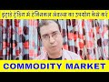 Intraday trading in commodity market-How to use technical levels for day trading in mcx commodity's