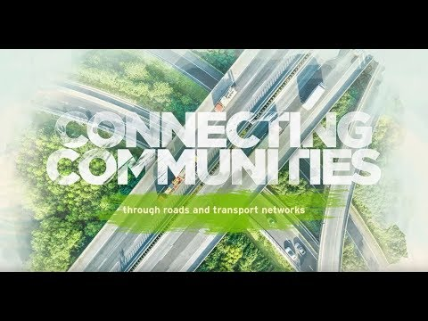 Connecting communities through roads and transport networks