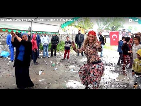 ROMAN HAVASI SEVENLER-ÇILGIN KIZ ÇILĞIN DANCE 3  Kurt Prodüksiyon