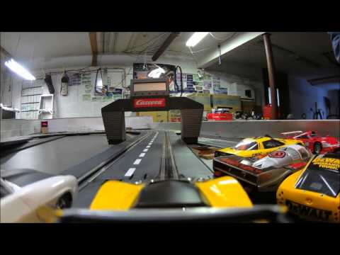 1/32 slot car racing scalextric