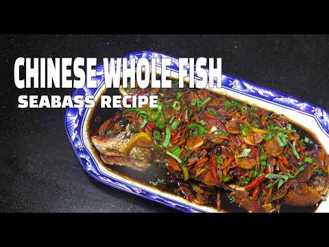 Chinese Fried Fish - Whole Fish Recipe - Youtube - Seabass Recipes