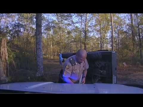 Bulloch County, Georgia | Police Dashcam | Deputy Saves 10yr old boy