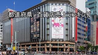 都道府県 百貨店売上ランキング
