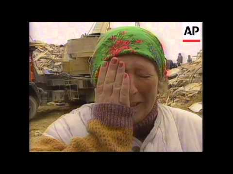 RUSSIA: SAKHALIN ISLAND EARTHQUAKE AFTERMATH: PEOPLE FOUND ALIVE