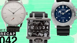 Uncategorized Watches Panerai and Reservoir and Watches for Beginners Weekly Recap