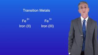 GCSE Chemistry (9-1) Charges on Ions
