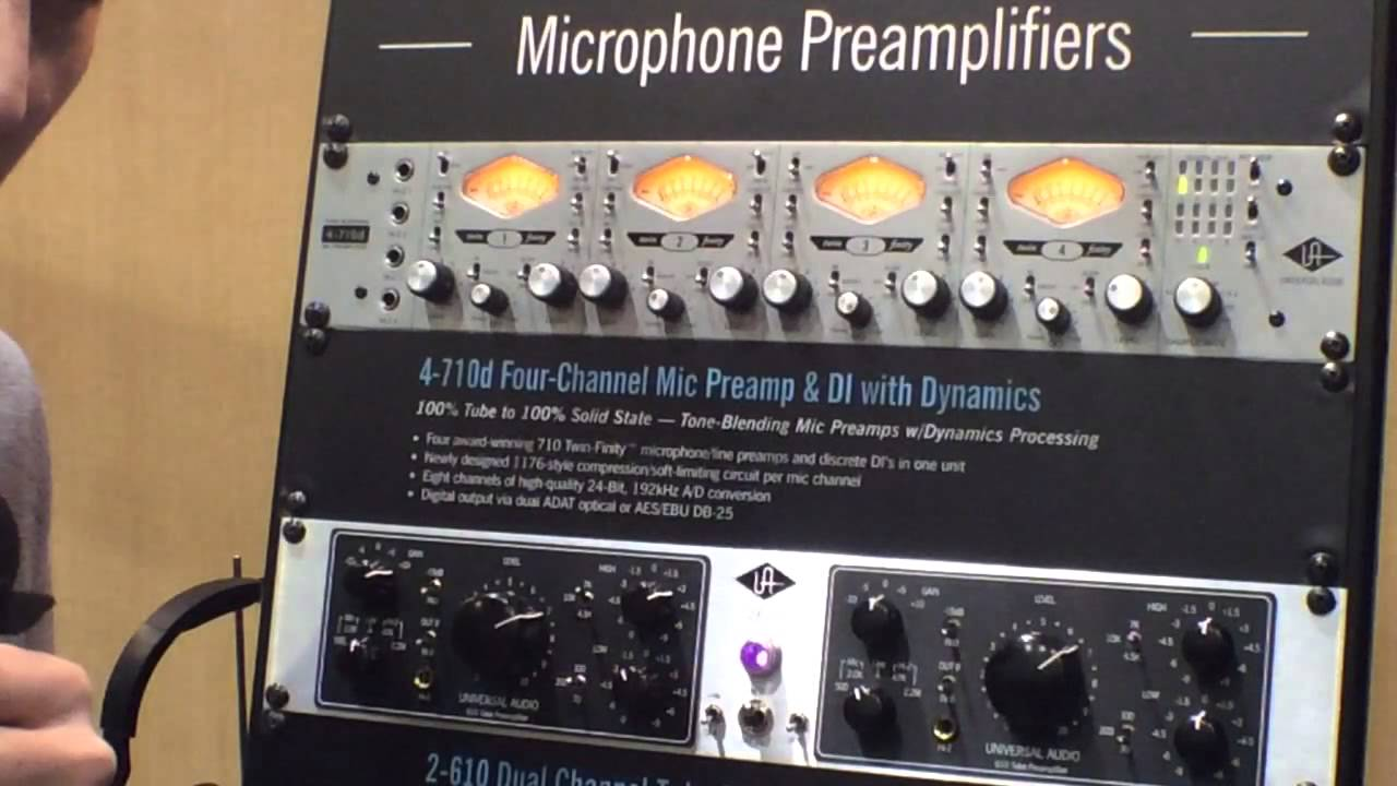 4-710d 4-Channel Mic Preamp