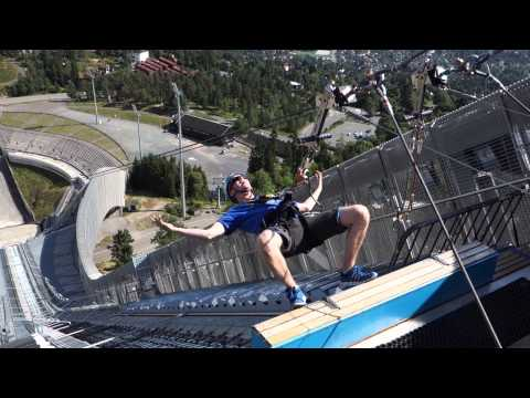 Oslo's Holmenkollen Ski Jump: Old, New, Great Views, and Big Thrills