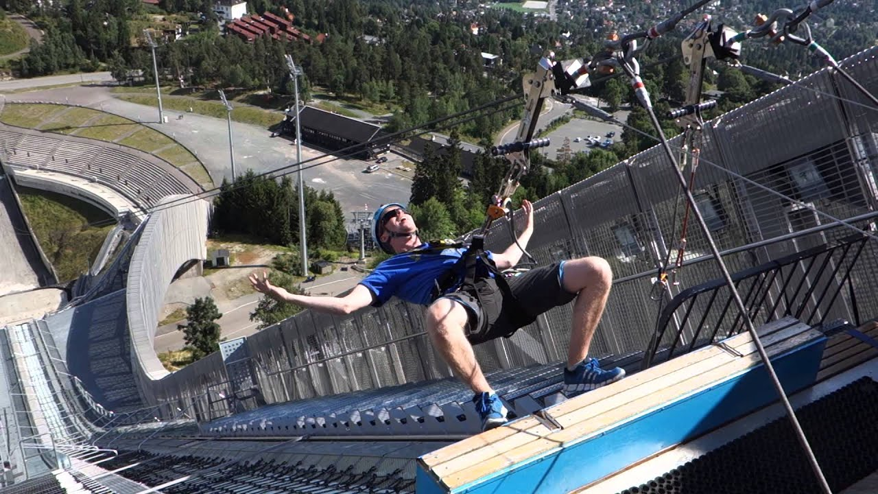Oslo S Holmenkollen Ski Jump Old New Great Views And Big Thrills Youtube