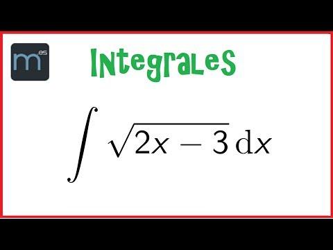 Integral con cambio de variable 03 BACHILLERATO from YouTube · Duration:  10 minutes 29 seconds