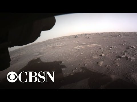 NASA's Mars Perseverance rover sends photos, video and audio from red planet