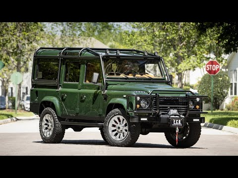2021 Land Rover Defender 110 E.C.D.  Automotive Design Project Rowdy