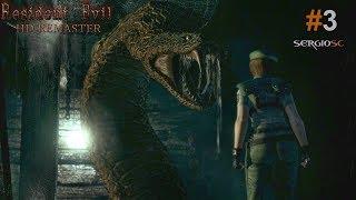 Resident Evil 1 HD REMASTER:#3 Exteriores Difícil PC ULTRA directo Español