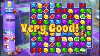 Wonka's World of Candy Level 554 - NO BOOSTERS + FULL STORY ???? | SKILLGAMING ✔️
