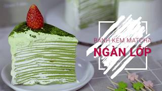How to make Matcha Mille Crepe Cake