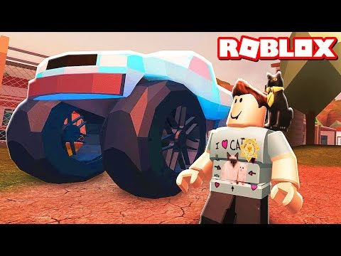 Thumbnail: ROBLOX JAILBREAK MONSTER TRUCK