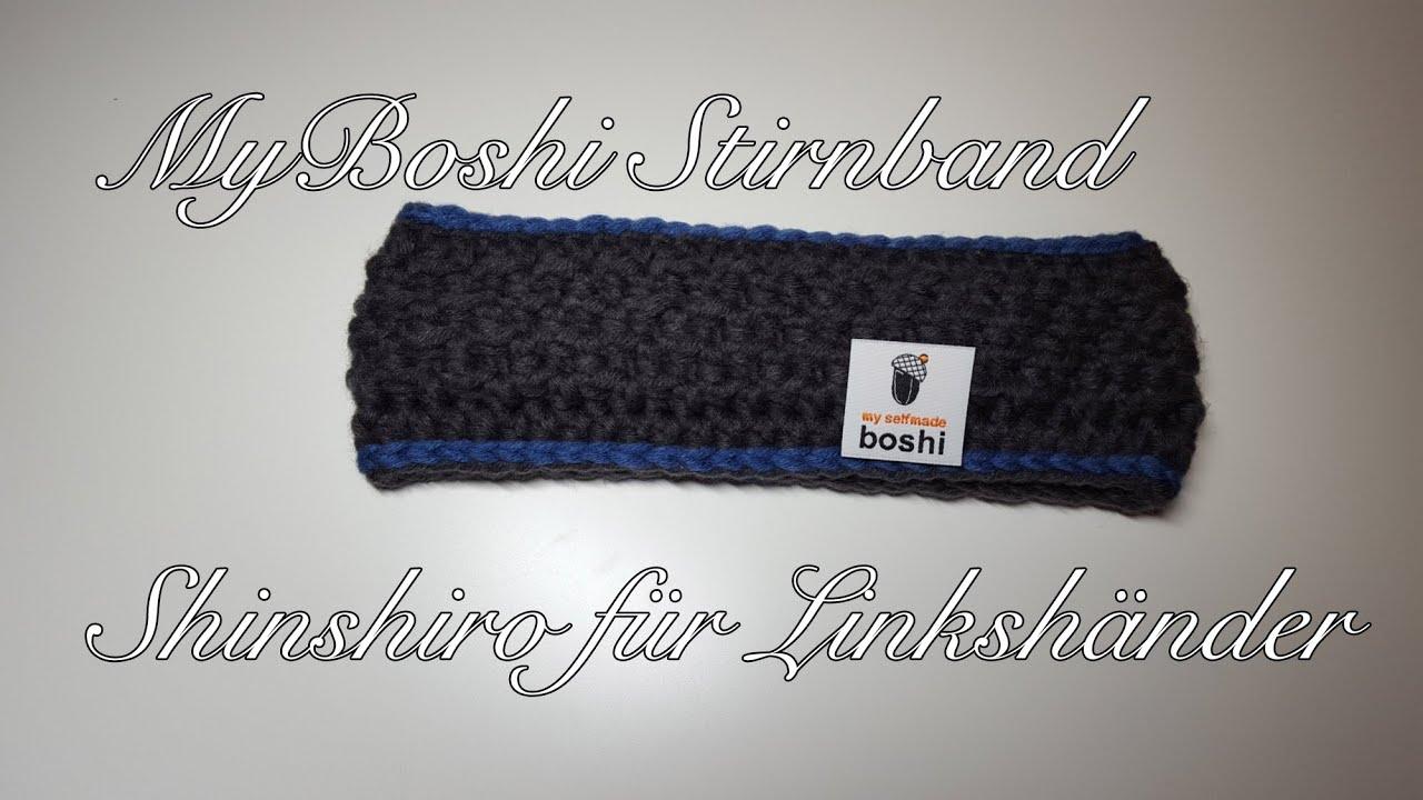 Myboshi Stirnband Shinshiro Häkelanleitung Für Fortgeschrittene Für