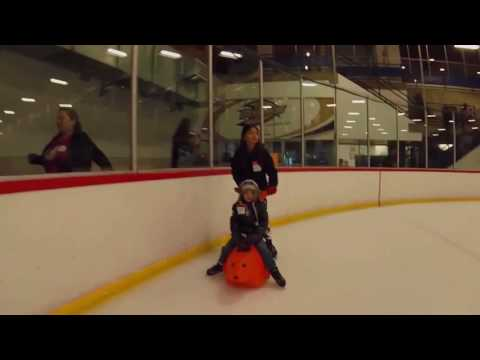 Skating at Anaheim Ice