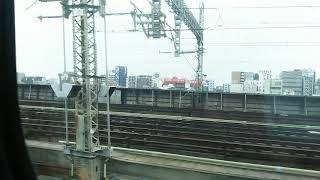 東北新幹線 なすの257号の車窓② 大宮駅出発 2018.09.29