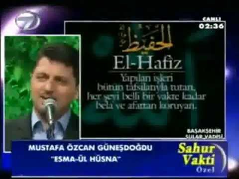 Esma ul husna Mustafa Özcan Günesdogdu