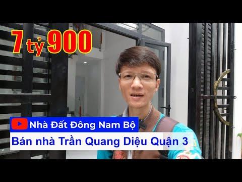 Video nhà bán Quận 3 mới xây rất đẹp, gần ngã 4 Trần Quang Diệu - Lê Văn Sỹ