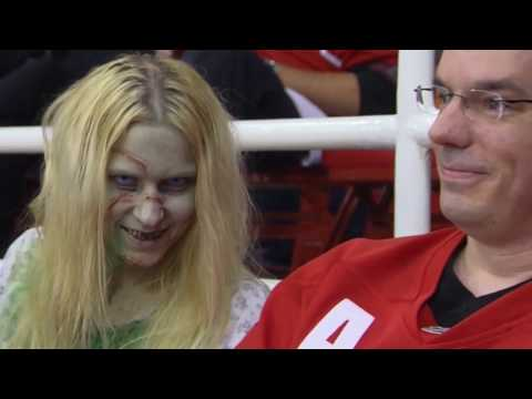 This is how NHL fans and players celebrate Halloween