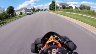 The 200cc Go Kart! | New Project | Police Encounter?!