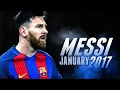 Lionel Messi - All Goals Scored In January 2017 | Uhd 4k video
