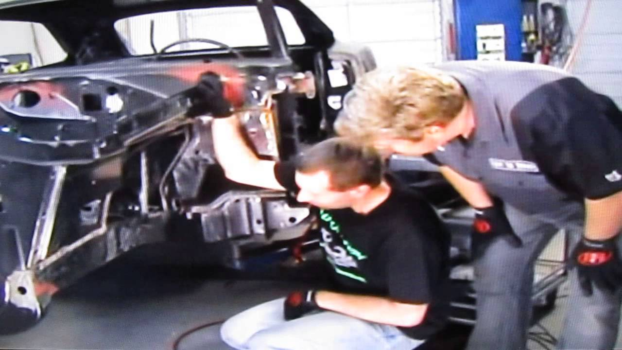 RMS Alter-K-tion front suspension on a 69 Charger