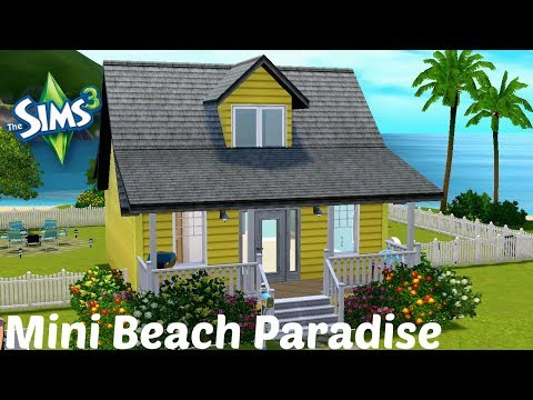 The Sims 3: Rory's Build Challenge   Mini Beach Paradise w/ Download Link