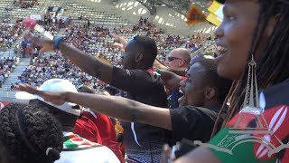 Following the Kenyans supporters at Paris Rugby Sevens 2019 - Afropean Safari