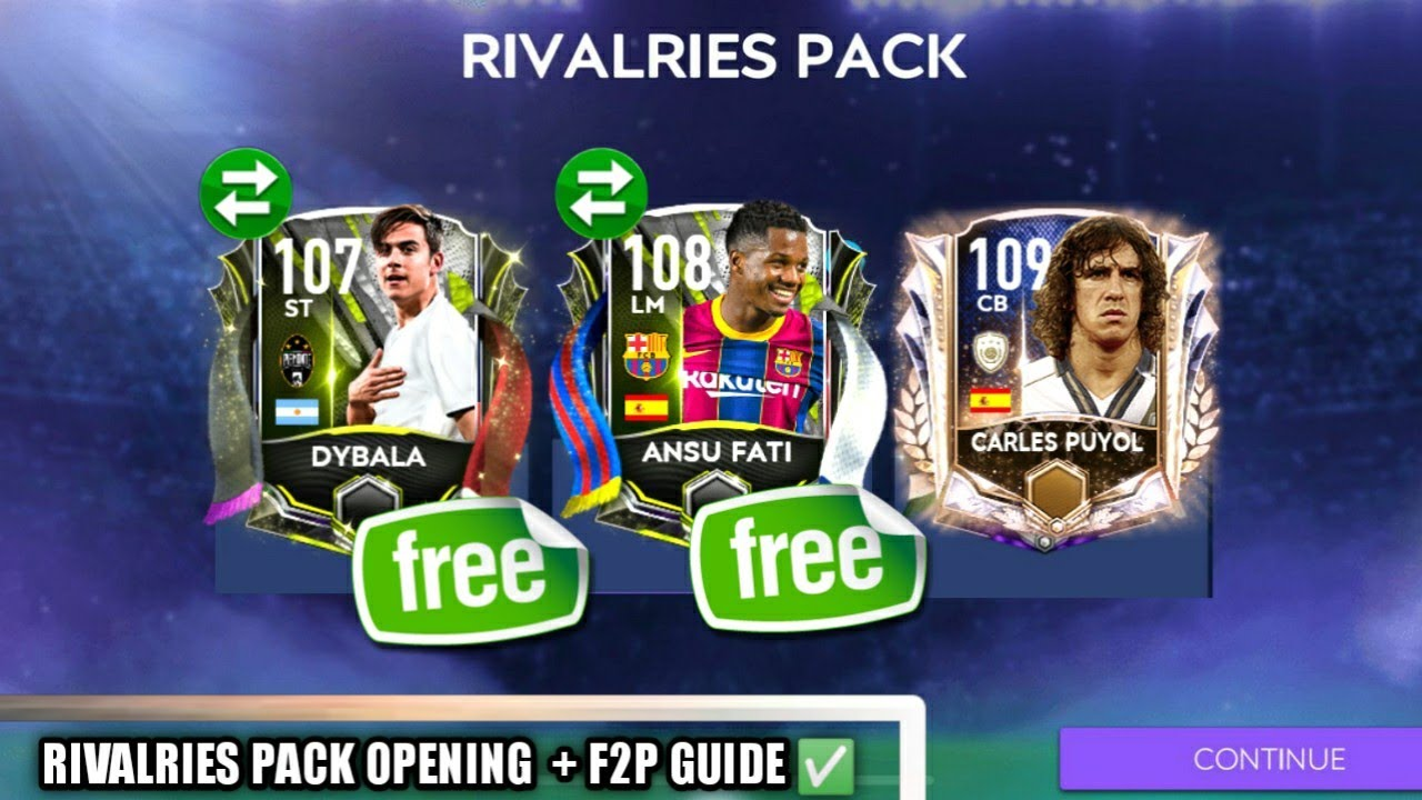 Download HOW TO GET FREE 108 FROM RIVALRIES EVENT | PACK OPENING | FIFA MOBILE 21